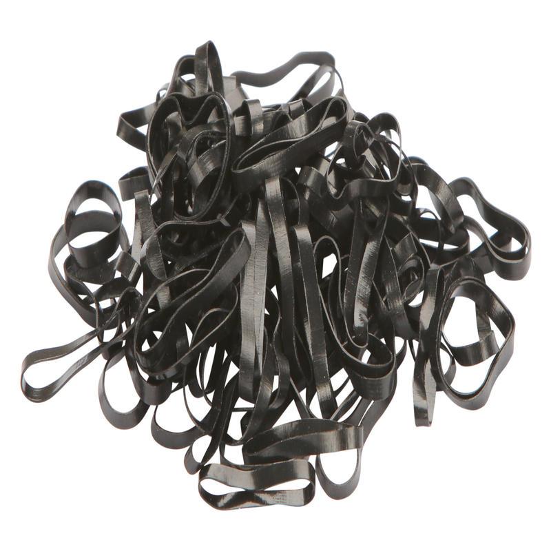 Silicone Elastics - Black