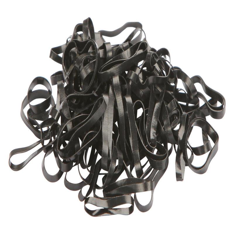Silikonové gumičky pro koně černé