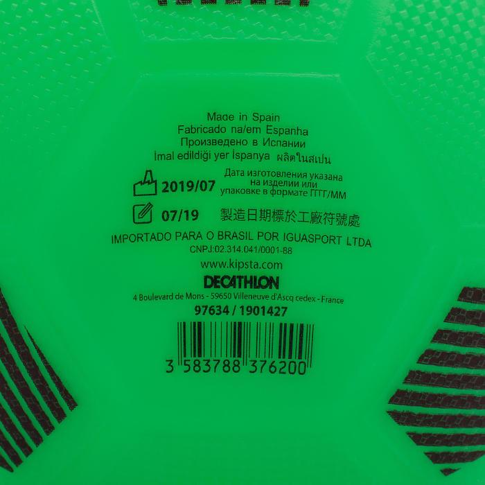 Plastic voetbal Sunny 300 maat 5 groen