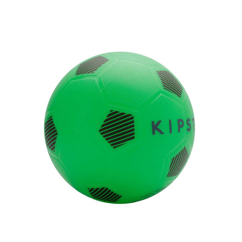 FOTBALOVÉ MÍČE REKREAČNÍ Fotbal - MÍČ SUNNY 300 VEL. 5 ZELENÝ KIPSTA - Fotbalové míče a branky