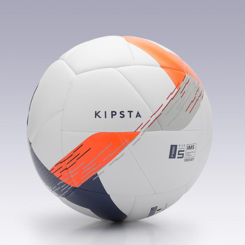 Balón de Fútbol F550 híbrido talla 5 blanco