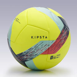 Ballon de football F900 FIFA thermocollé taille 5 jaune