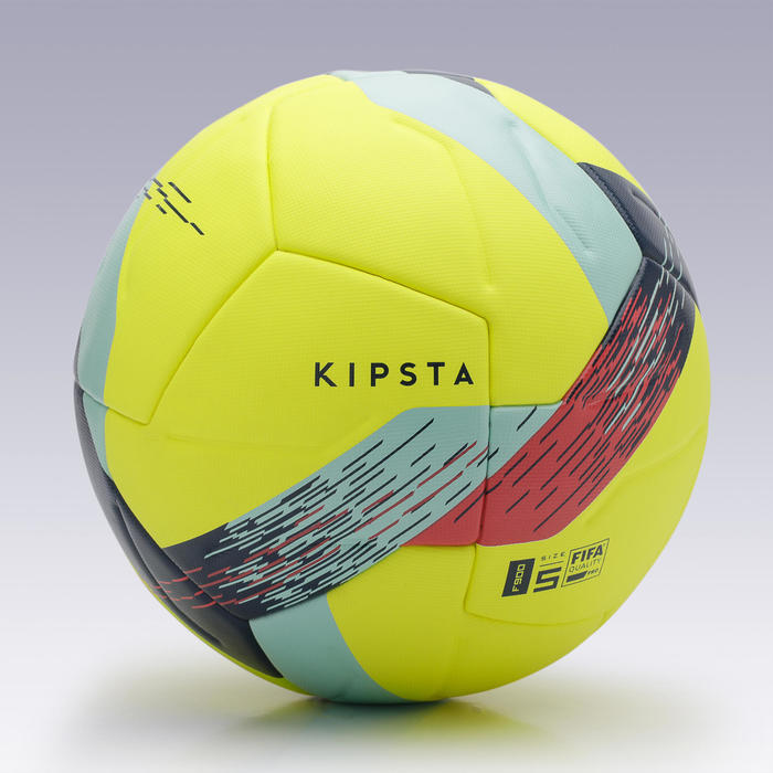 Thermobonded Size 5 Football FIFA Pro F900 - Yellow