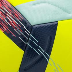 5號熱黏合足球F900 FIFA-黃色