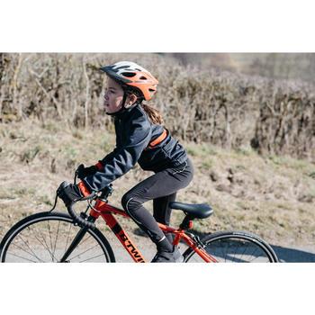 Lange fietsbroek kind 100 zwart