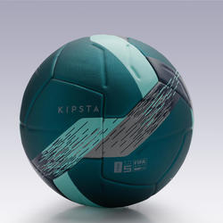 5號熱黏合足球F900 FIFA-綠色