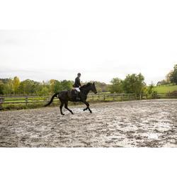 Zadeldek ruitersport paarden 900 Jump zwart