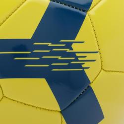 Voetbal F100 maat 5 (vanaf 12 jaar) geel
