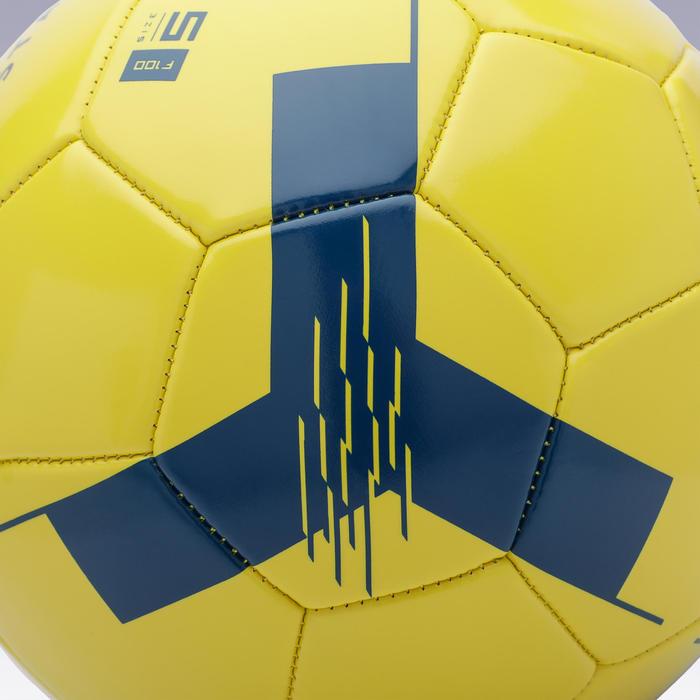 Bóng đá F100 cỡ 5 (cho trẻ trên 12 tuổi) - Vàng