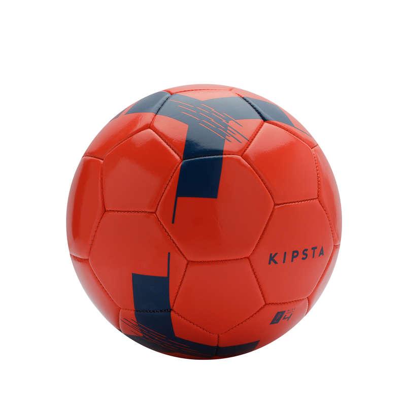 FOTBALOVÉ MÍČE KLASICKÉ Fotbal - MÍČ F100 VEL. 4 ČERVENÝ KIPSTA - Fotbalové míče a branky