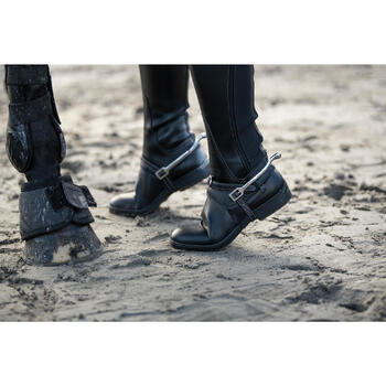 Hufglocken 500 offen Pony/Pferd schwarz