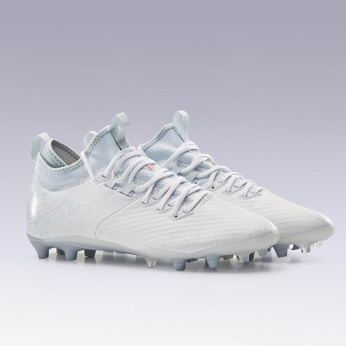 Chaussure de football adulte terrains secs Agility 900 Mesh MiD FG blanc