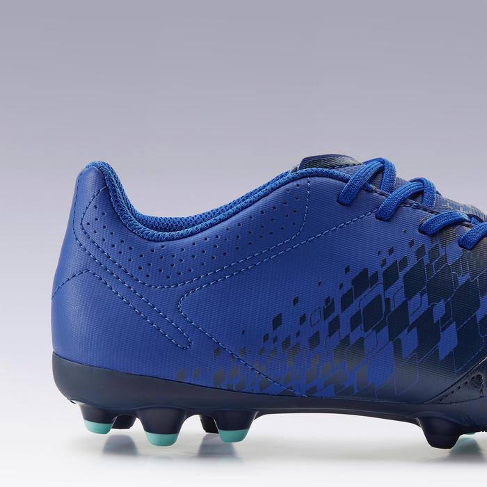 Chaussure de football adulte terrains secs Agility 500 MG bleu foncé