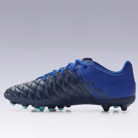 Adult Mixed Ground Football Boots Agility 500 - Dark Blue