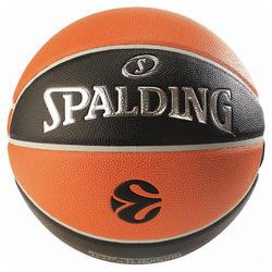 Ballon de basketball TF 1000 EUROLEAGUE taille 7 pour adulte à partir de 13 ans