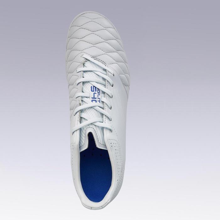 成人碎釘牛皮足球鞋Agility 540 HG-灰白色