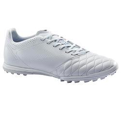 成人款硬地皮革足球鞋Agility 540 -灰色/藍色