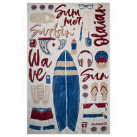 TOWEL PRINT L 145 x 85 cm - Icon Sand