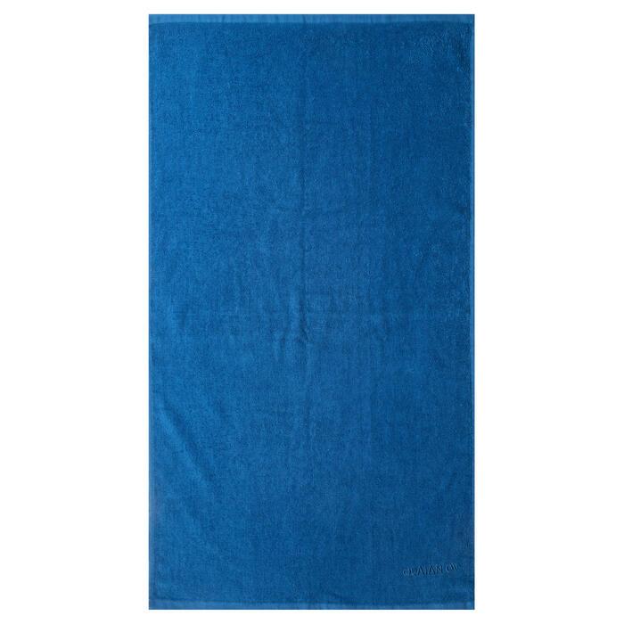 Serviette BASIC S Bleu Celtic 90x50 cm