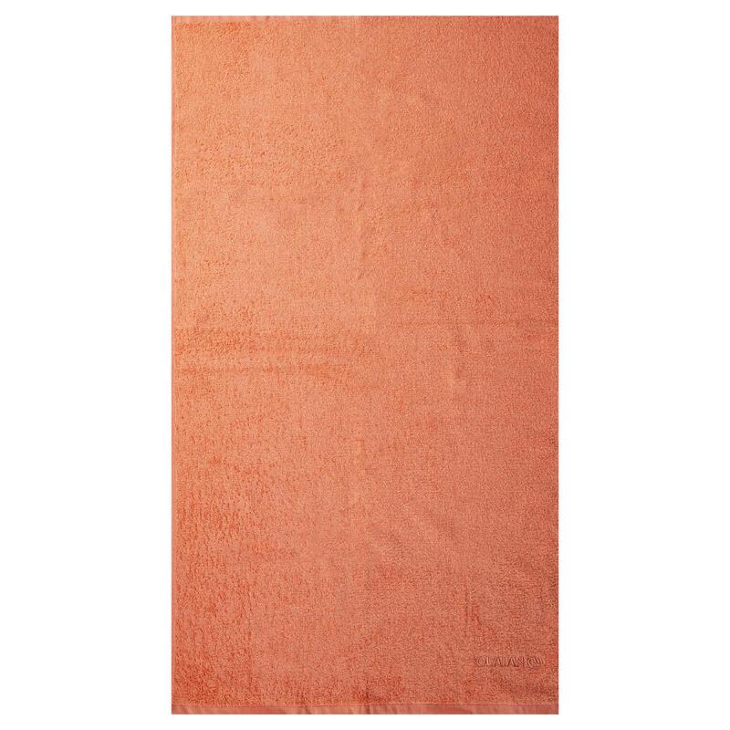 SERVIETTE S Pêche 90x50 cm