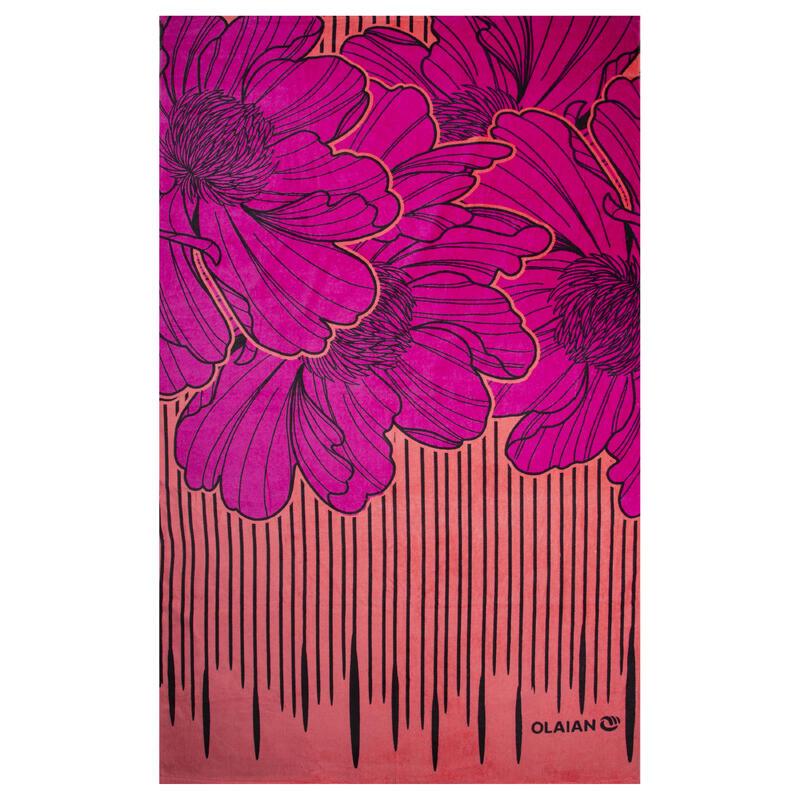 Basic L Towel 145 x 85 cm Print - Riyu