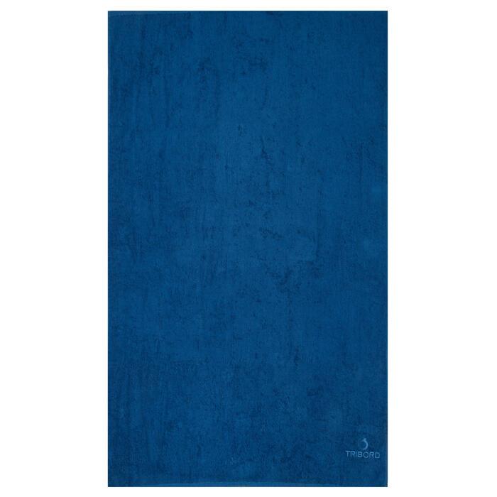 Strandlaken groot Basic L Celtic blue 145 x 85 cm
