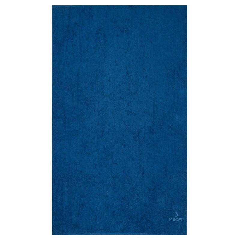 Badhanddoek groot Keltisch blauw 145 x 85 cm L