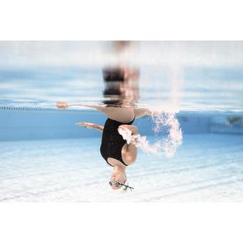 Pince nez synchro pour la natation artistique (synchronisée) couleur chair.