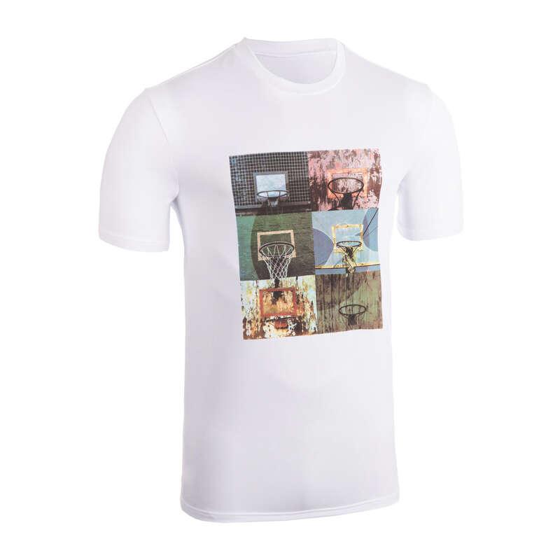 MAN BASKETBALL OUTFIT Basketball - T-Shirt TS500 White Insta6 TARMAK - Basketball Clothes