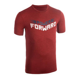 T-SHIRT / MAILLOT DE BASKETBALL HOMME TS500 ROUGE POWER FORWARD