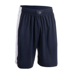 Men's Basketball Shorts SH500 - Black/Blue/White