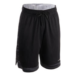 Men's Reversible Basketball Shorts - Grey/Black