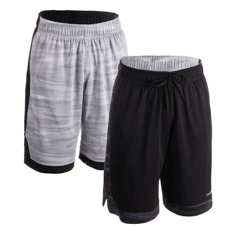 MAN BASKETBALL OUTFIT Basketball - Men's Reversible Shorts SH500R TARMAK - Basketball