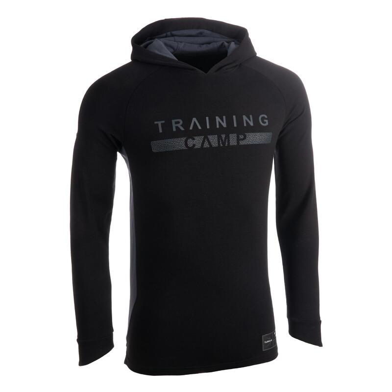 Men's Hooded Long-Sleeved Shooting T-Shirt / Jersey TS500LS - Black