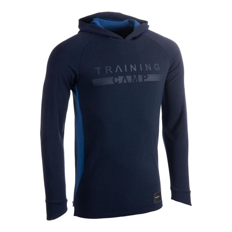 T-shirt / maillot manches longues à capuche Shooting Shirt TS500LS H Marine