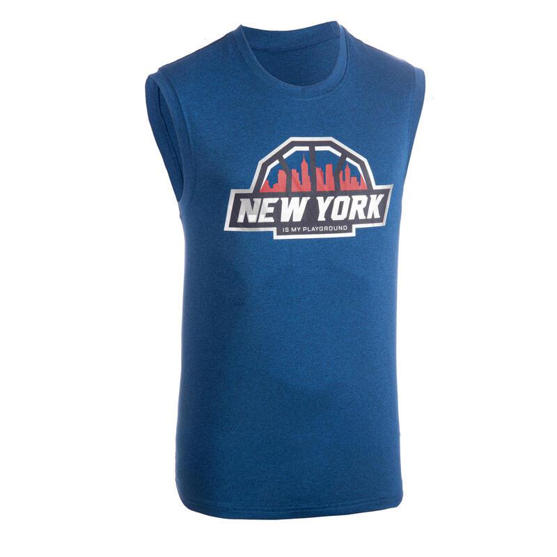 Erkek Basketbol Forması - Mavi / Los Angeles - TS500