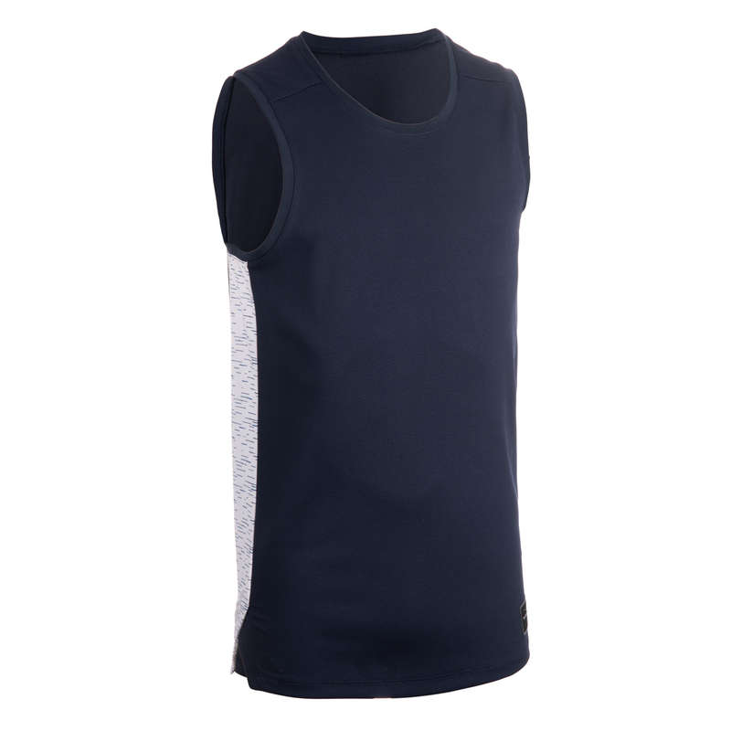 Férfi kosárlabda ruházat és kiegészítők Kosárlabda - Felnőtt kosárlabda mez T500 TARMAK - Kosárlabda ruházat