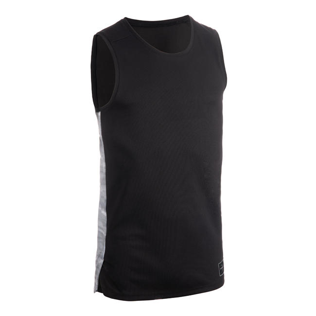 Men's Basketball Jersey / Tank Top T500 - Black