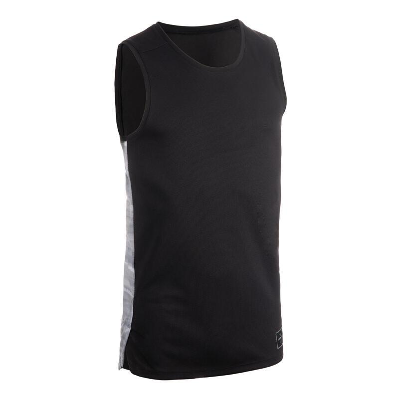 Erkek Basketbol Forması - Siyah - T500