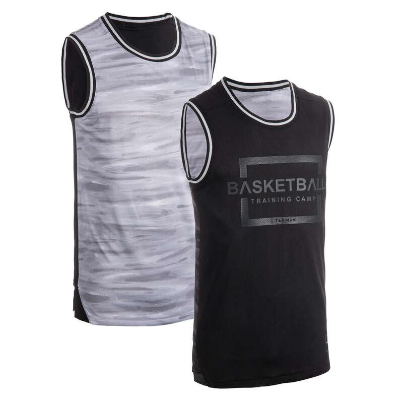 BASKETBALOVÉ OBLEČENÍ Basketbal - TÍLKO T500R MODRO-ČERNÉ  TARMAK - Basketbalové oblečení a doplňky