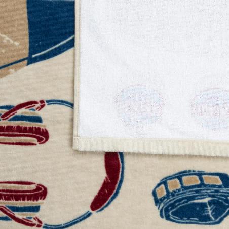 Handuk Bergambar Basic L 145 x 85 cm - Icon Sand