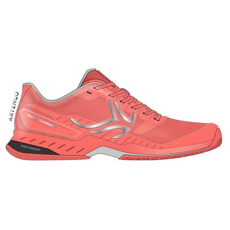 Women's Tennis Shoes TS990 - Coral