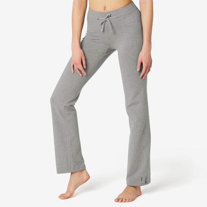 Women's Regular-Fit Pilates & Gentle Gym Sport Leggings Comfort+ - Mottled Grey