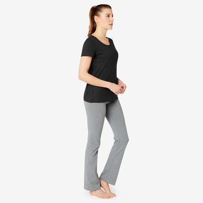 Women's Regular T-Shirt 500 - Black