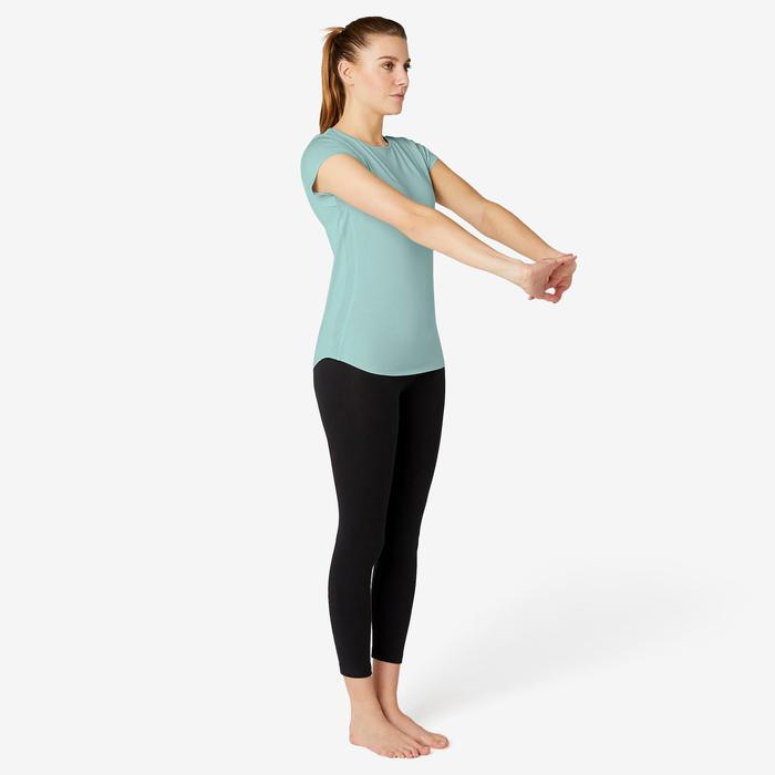 T-shirt Sport Pilates Gym Douce Femme 520 Vert