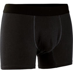 Men's Boxer Shorts 500 - Black