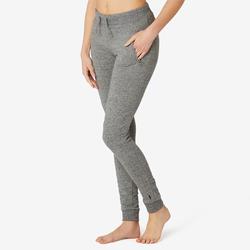 女款修身剪裁溫和健身與皮拉提斯長褲510 - 灰色