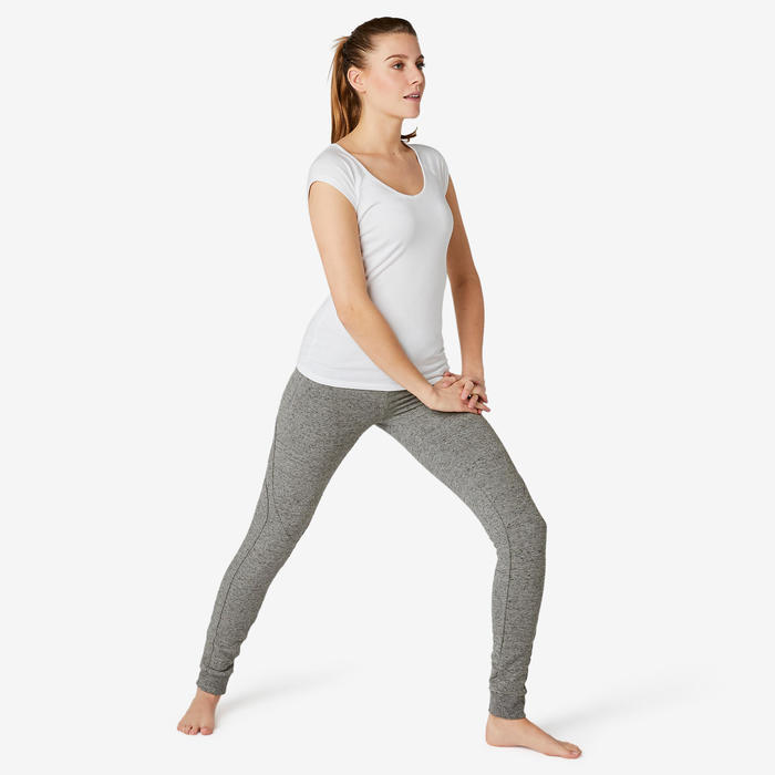 Pantalon jogging femme 510 slim gris
