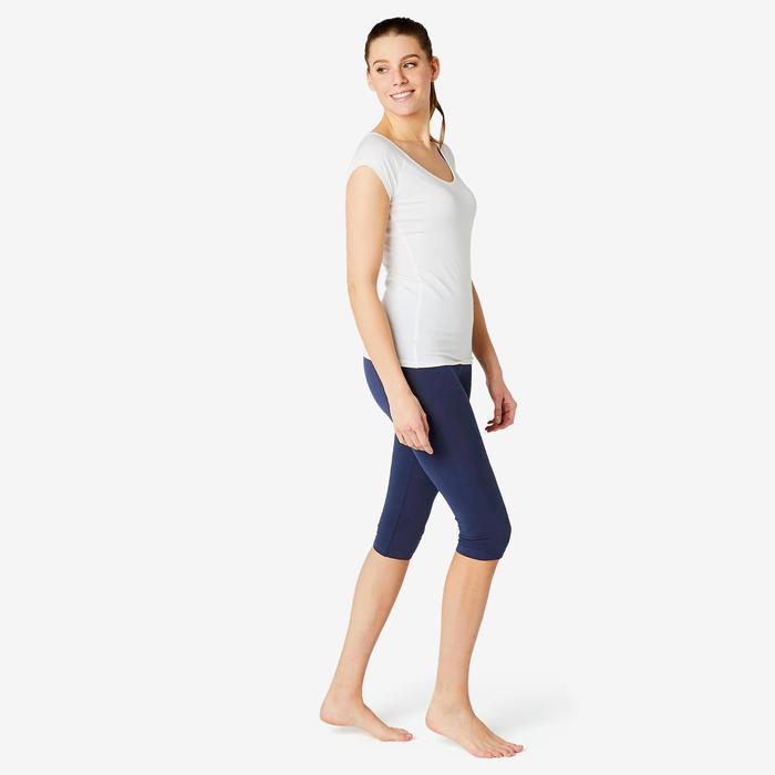 Corsaire Coton Fitness Fit+ Bleu Marine