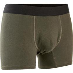 Boxer Sport homme en coton vert